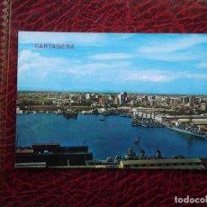 Postales: CARTAGENA (MURCIA). 52 PUERTO Y VISTA PARCIAL. EDICIONES ARRIBAS. NUEVA. Lote 105137970