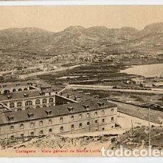 Postales: MURCIA CARTAGENA VISTA GENERAL DE SANTA LUCIA P.Z. 10534. SIN CIRCULAR. Lote 105326235