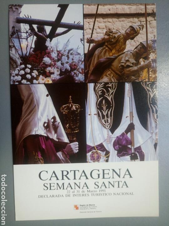 POSTAL CARTAGENA SEMANA SANTA 1991 MURCIA (Postales - España - Murcia Moderna (desde 1.940))