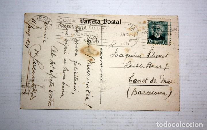 Postales: ANTIGUA POSTAL DE MURCIA. TORRE DE LA CATEDRAL. CIRCULADA - Foto 2 - 107191851