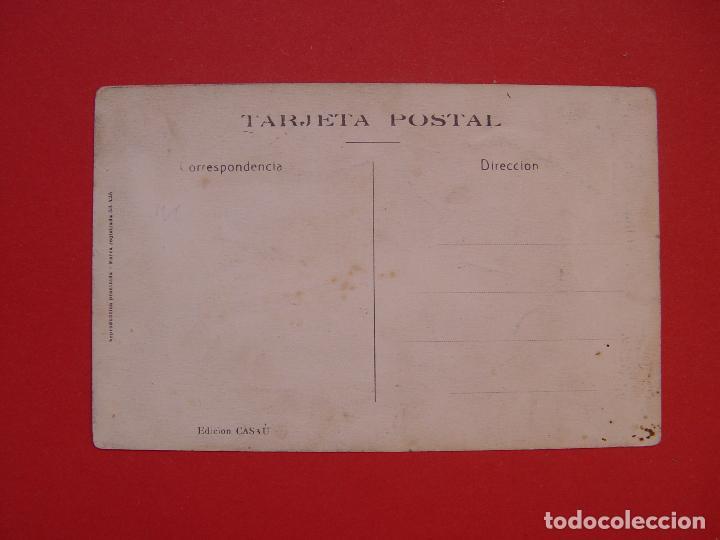Postales: Tarjeta postal: CARTAGENA: Gran Hotel (CASAÚ, 1935's) ¡Sin circular! ¡Original! - Foto 2 - 107233067