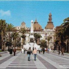 Postales: == PJ73 - POSTAL - CARTAGENA - EXPLANADA Y MONUMENTO A LOS HÉROES DE CAVITE. Lote 108322791