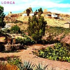 Postales: LORCA (MURCIA) -VISTA GENERAL DEL CALVARIO Y CASTILLO- (ED. ARRIBAS Nº 2.004) SIN CIRCULAR / P-1018. Lote 103190535