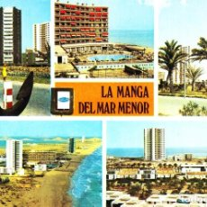Postales: LA MANGA DEL MAR MENOR - CARTAGENA (MURCIA) -DIVERSOS ASPECTOS- SIN CIRCULAR / P-1767. Lote 109155067
