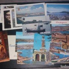 Postales: POSTALES. CARTAGENA, LOTE DE 16 DIFERENTES, AÑOS 80 Y 90, NUEVAS SIN CIRCULAR. Lote 109211987