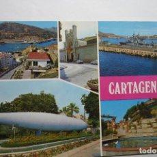 Postales: POSTAL VARIAS VISTAS CARTAGENA .--ESCRITA. Lote 109282675