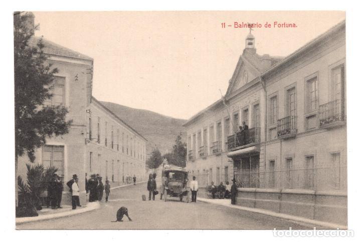 MURCIA. 11 BALNEARIO DE FORTUNA. FOTOTIPIA THOMAS. SIN CIRCULAR (Postales - España - Murcia Antigua (hasta 1.939))