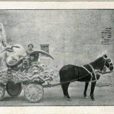 Postales: LORCA (MURCIA). PROCESIONES. PASO BLANCO: 'CAIDA DE BABILONIA'.. Lote 130126922