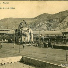 Postales: CARTAGENA. PABELLONES DE LA FERIA. EDICIÓN HAUSER Y MENET Nº1916. REVERSO SIN PARTIR.. Lote 112156875
