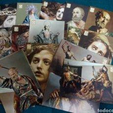 Postais: MURCIA .- 27 POSTALES DEL MUSEO SALZILLO .- EDICION ESCUDO DE ORO. Lote 112346928