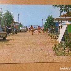 Postales: ANTIGUA POSTAL CÀMPING DE BOLNUEVO MAZARRON MURCIA. Lote 115233807