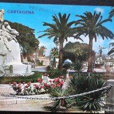 Postales: CARTAGENA (MURCIA). 53 MONUMENTO A LOS HÉROES DE CAVITE. ED. ARRIBAS. USADA CON SELLO. POSTAL DE COL. Lote 115653424