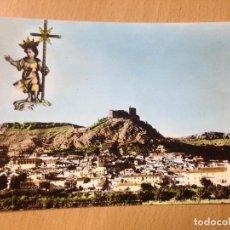 Postales: ANTIGUA POSTAL NIÑO JESUS DE BELÉN MULA MURCIA. Lote 116476531