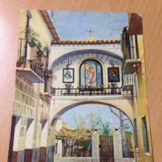 Postales: ANTIGUA POSTAL MURCIA ARCO DE LA AURORA PUBLICIDAD LA MOLINERA MOLINA DE SEGURA FERIA CONSERVA. Lote 116557431