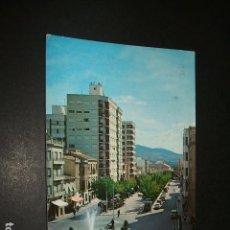 Postales: CIEZA MURCIA PASEO DE LOS MARTIRES. Lote 116625379
