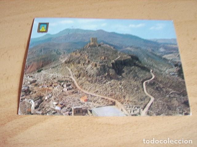 LORCA ( MURCIA ) PANORAMICA DEL CASTILLO TORRE ALFONSINA AL FONDO (Postales - España - Murcia Moderna (desde 1.940))