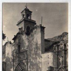 Postales: ORIHUELA. PORTADAS DE SANTIAGO. MONUMENTO NACIONAL. ESCRITA EL 20 DE MARZO DE 1959.. Lote 117833803