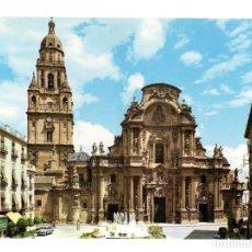 Postales: POSTAL - CATEDRAL - FACHADA - MURCIA - EDIONES ARRIBAS - ESCUDO DE ORO - 1961. Lote 117909659