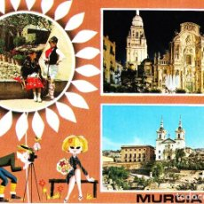 Postales: MURCIA -TRAJES TÍPICOS. CATEDRAL. SANT. FUENSANTA- (SUBIRATS CASANOVAS Nº 120) SIN CIRCULAR / P-3132. Lote 118267823