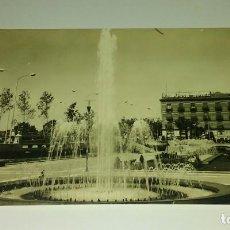 Postales: MURCIA. FUENTES. GLORIETA DE ESPAÑA. AL FONDO HOTEL VICTORIA.. Lote 118382035