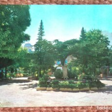 Postales: YECLA - PARQUE DEL GENERALISIMO. Lote 120401719