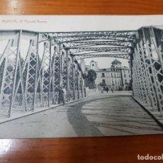 Postales: ANTIGUA TARJETA POSTAL MURCIA PUENTE NUEVO FOTOTIPIA THOMAS BARCELONA. Lote 122030399