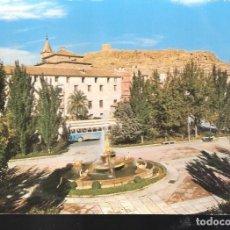 Postales: PLAZA DE COLÓN. CASTILLO. LORCA. MURCIA.. Lote 122355735