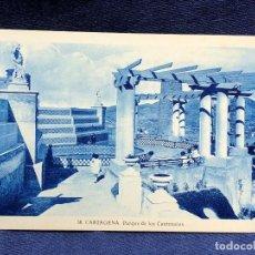 Postales: TARJETA 38 CARTAGENA PARQUE DE LOS CANTONALES NO ESCRITA NI CIRCULADA. Lote 122531259