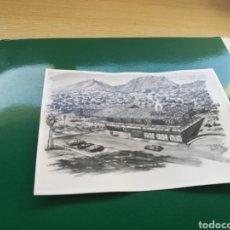 Postales: POSTAL DE UN PROYECTO URBANÍSTICO EN EL MONTE DE SANTA ANA DE JUMILLA. AÑOS 50. Lote 123064314