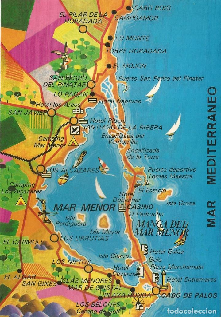 Mapa Costa Calida Manga Del Mar Menor S C Sold Through Direct