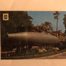 Postales: CARTAGENA (MURCIA) POSTAL NO.79. MONUMENTO AL SUBMARINO PERAL. EDITA: SUBIRATS CASANOVA (H.1960?). Lote 124565422