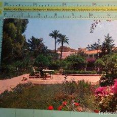 Postales: POSTAL DE MURCIA. AÑO 1962. ARCHENA, JARDINES DEL BALNEARIO. 1641. Lote 124613907