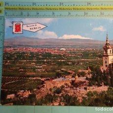 Postales: POSTAL DE MURCIA. AÑO 1966. SANTUARIO DE LA FUENSANTA Y VISTA GENERAL. 1645. Lote 124614491