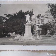 Postales: CARTAGENA Nº 231. MURALLA DEL MAR. ED. AISA. CIRCULADA 1955. Lote 126154915