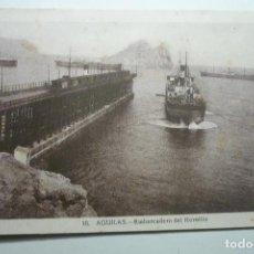 Postales: POSTAL AGUILAS- EMBARCADERO DEL HORNILLO CM. Lote 126744435