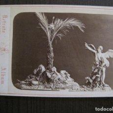 Postales: MURCIA-SALZILLO -NO POSTAL-ES FOTO ALBUMINA-FOTO JUAN ALMAGRO -VER FOTOS-(V-14.879) . Lote 126904731