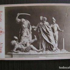 Postales: MURCIA-SALZILLO -NO POSTAL-ES FOTO ALBUMINA-FOTO JUAN ALMAGRO -VER FOTOS-(V-14.881) . Lote 126904899