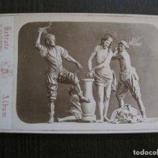 Postales: MURCIA-SALZILLO -NO POSTAL-ES FOTO ALBUMINA-FOTO JUAN ALMAGRO -VER FOTOS-(V-14.882) . Lote 126904983
