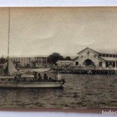 Postales: POSTAL FOTOGRÁFICA. EDICIONES GALINDO 9. CLUB MARÍTIMO LA CONCHA. LOS ALCÁZARES. MAR MENOR. MURCIA.. Lote 128768967