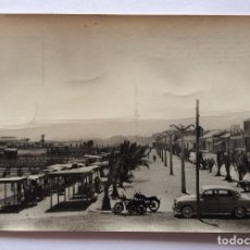Postales: POSTAL FOTOGRÁFICA. EDICIONES GALINDO 10. PASEO Y PLAYA DE LA CONCHA. LOS ALCÁZARES.MAR MENOR.MURCIA. Lote 128770119