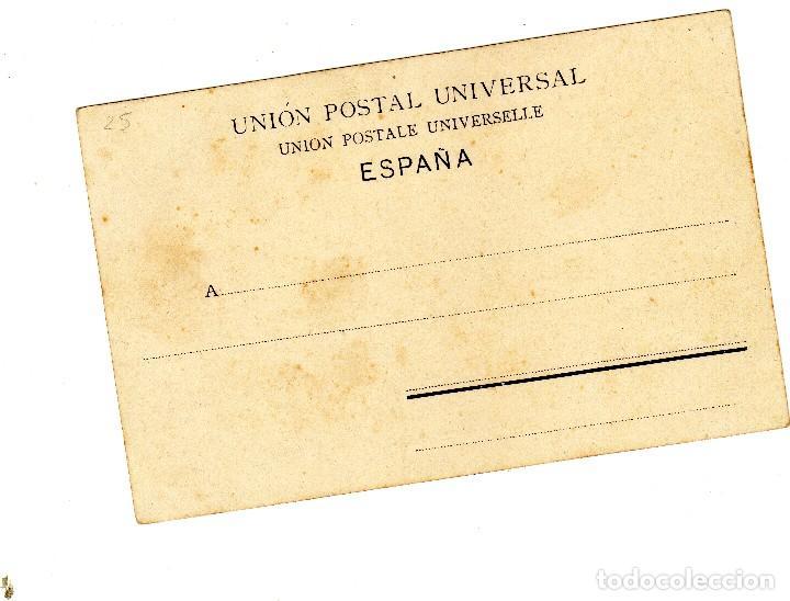 Postales: Preciosa postal de Cartagena - El Muelle - Reverso sin dividir anterior a 1906 completamente nueva. - Foto 2 - 128982803