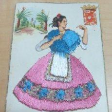 Cartes Postales: POSTAL BORDADA MURCIA P. ESPERON. Lote 130182639