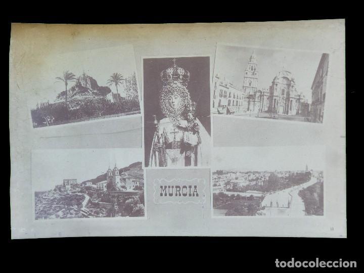 Postales: MURCIA - 9 CLICHES ORIGINALES - NEGATIVOS EN CELULOIDE - ED. ARRIBAS - Foto 7 - 130251066