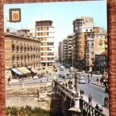Postales: MURCIA - PUENTE VIEJO Y AVENIDA JOSE ANTONIO. Lote 130310294