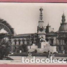 Postales: POSTAL DE CARTAGENA - MURCIA - MONUMENTO A HÉROES D CAVITE - AYUNTAMIENTO Nº16 ARRIBAS. Lote 131585430