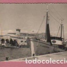 Cartes Postales: POSTAL DE CARTAGENA - MURCIA - PUERTO PESQUERO Nº 8 DE GARCIA GARRABELLA - DENTADA. Lote 131585674