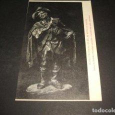 Postais: MURCIA MUSEO PROVINCIAL DE BELLAS ARTES BELEN DE SALZILLO MENDIGO CANTANDO GAITERO GAITA ZAMORANA. Lote 132091846