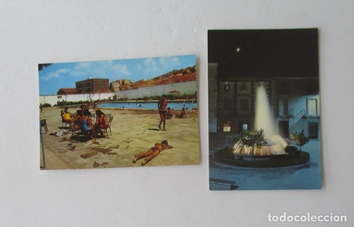 DOS POSTALES DE BULLAS, MURCIA (Postales - España - Murcia Moderna (desde 1.940))