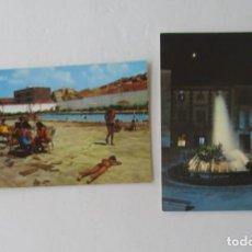 Postales: DOS POSTALES DE BULLAS, MURCIA. Lote 132271238