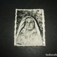 Postales: CARTAGENA MURCIA SEMANA SANTA FOTOGRAFIA VIRGEN DOLOROSA SAEZ FOTOGRAFO. Lote 132602706